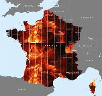 Frankreich im Wahn (Symbolbild)