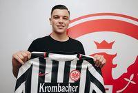 Renat Dadashov Bild: Eintracht Frankfurt