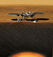 "Nasa-Sonde ""InSight"""