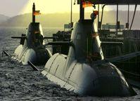 """Deutsche Uboote der Dolphhin-Klasse """"Tanin"""": 3 Wochen tauchen, atomar bestückbar, eignet sich für atomare Erstschläge (Symbolbild)"""