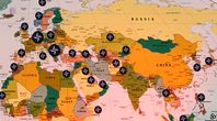 Nato Militärstützpunkte: Größter Militäraufmarsch der Nato an der russischen Grenze seit dem 2. Weltkrieg.
