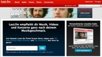 Online-Radios wie last.fm drängen in die Fahrzeug-Cockpits. Bild: www.last.fm
