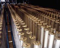 Urananreicherung (Symbolbild)