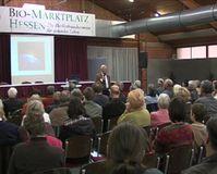 Dr. Franz Alt begeisterte mit seinem Vortrag seine Zuhörer. Bild: ExtremNews Kai Oestreich