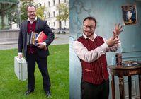 """""""Der Zauber-Professor von der Uni"""". Bild: """"obs/Zauberkunst"""""""
