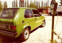 """Der Elektro-Golf I (1976). Bild: """"obs/Volkswagen"""""""