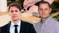 Götz Frömming (MdB) und Tino Chrupalla (MdB), Abgeordnete der AfD-Bundestagsfraktion (2018)