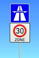 Tempolimit auf der Autobahn (Symbolbild)
