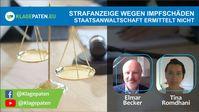 """Bild: Screenshot Video: """"Strafanzeige wegen Impfschäden – der Ball rollt! RA Elmar Becker zum Thema"""" (https://youtu.be/0291XqrIu84) / Eigenes Werk"""