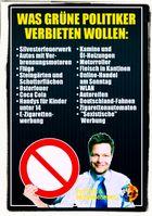 Bündnis90 / Die Grünen sind, in den Augen der meisten Menschen, zwischenzeitlich eine reine Verbotspartei (Symbolbild)