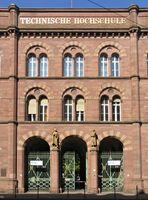 Portal der 1825 gegründeten TH Karlsruhe (seit 2009: Karlsruher Institut für Technologie), Architekt: Friedrich Theodor Fischer, 1861-64 (Erweiterung).