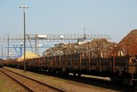Güterwaggons & Schrott (Symbolbild)