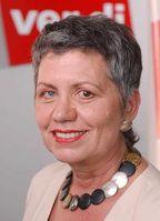 Margret Mönig-Raane Bild: ver.di - Vereinte Dienstleistungsgewerkschaf