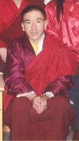 Der festgenommene Mönch Ngagsung, der Abt des Klosters Khakhor