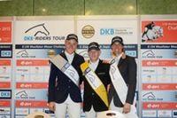 """Marcus Ehning nutzte seine Möglichkeiten bei der fünften Etappe der DKB-Riders Tour. Er holte sich den Löwenanteil des Preisgeldes und die Höchstpunktzahl. Bild: """"obs/Riders Tour GmbH"""""""