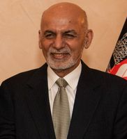Aschraf Ghani Ahmadsai (Ahmadsai ist der Stammesname; paschtunisch محمد اشرف غني احمدزی DMG Muḥammad Ašraf Ġanī Aḥmadzay) (2020)