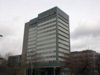 Gebäude der Investitionsbank Berlin (IBB) in Berlin-Wilmersdorf