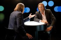 "Richard David Precht, Harald Welzer. Bild: ""obs/ZDF"""