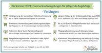 Bis Sommer 2021: Corona Sonderregelungen für pflegende Angehörige Bild: VP Verband Pflegehilfe Gesellschaft mit beschränkter Haftung