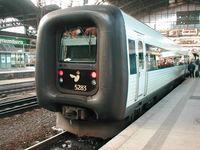 Eurocity: MF der Dänischen Staatsbahnen im Einsatz auf der Vogelfluglinie.