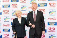 Boris Becker mit seiner Mutter Elvira (2019)