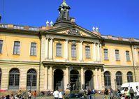 Sitz der Schwedischen Akademie in Stockholm
