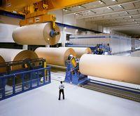 Papierproduktion /  Bild: Verband Deutscher Papierfabriken (VDP) Fotograf: VDP
