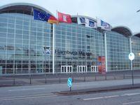 Gebäude der Hamburg Messe