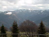 Der Feldberg, höchster Berg des Schwarzwalds, südöstlich von Freiburg