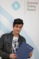 Der deutsche YouTuber Florian Mundt alias LeFloid als Nominierter bei den Grimme Online Awards 2014.