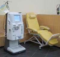 Behandlungsplatz für die Hämodialyse
