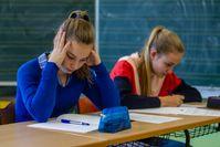 """Stress in der Schule kann zum Blackout bei wichtigen Prüfungen und Klassenarbeiten führen. Bild: """"obs/Studienkreis GmbH/Studienkreis/Michael Printz"""""""