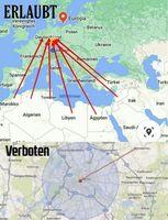 2021: Willkührliche Regeln der Exekutive überrollen Deutschland und die Welt (Symbolbild)