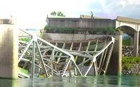 Zerstörte Brücke (Symbolbild)