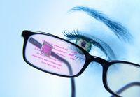 Eine neuartige Daten-Brille zeigt Informationen an und nimmt Befehle entgegen. Bild: Fraunhofer IPMS