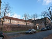 """JVA Halle/Saale """"Roter Ochse"""" war in nationalsozialistischen Zeiten Gefängnis für politische Gefangene und gleichzeitig Ermordungsstätte selbiger mit Falleil oder Strick."""