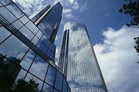 Zentrale der Deutsche Bank in Frankfurt am Main. Bild: Deutsche Bank