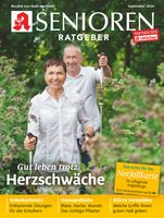 """Titelcover Senioren Ratgeber, Ausgabe 9/2020.  Bild: """"obs/Wort & Bild Verlag - Gesundheitsmeldungen"""""""