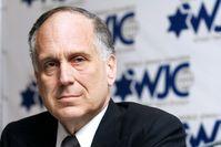 President of the World Jewish Congress Ronald S. Lauder Bild: GEERT VANDEN WIJNGAERT Fotograf: GEERT VANDEN WIJNGAERT