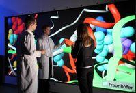 Winzige Proteine riesengroß - Molekularbiologie in 3D-Welten (c) obs/Fraunhofer IGD