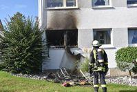 Das Zimmer brannte komplett aus Bild: Feuerwehr