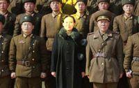 Kim Yo-jong in der Mitte (2017)