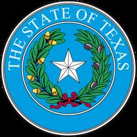 Siegel des Bundestaates Texas (USA)