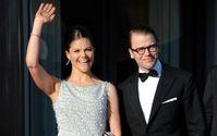 """Kronprinzessin Victoria von Schweden und Ehemann Daniel. Bild: """"obs/ZDF/dpa/Carsten Rehder"""""""