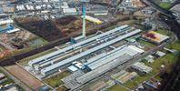 Luftaufnahme der Aluminium-Hütte in Essen