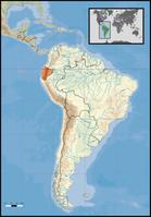 Lage von Ecuador in Südamerika. Bild: David Liuzzo