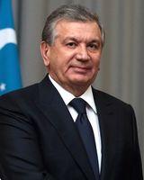Shavkat Mirziyoyev (2017)