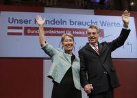 Dr. Heinz Fischer während des Wahlkampfes. Bild: Dragan Tatic