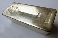 5-kg-Silberbarren