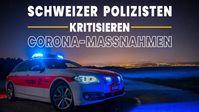 "Bild: Screenshot Video: "" Schweizer Polizisten kritisieren Corona-Maßnahmen"" (www.kla.tv/19765) / Eigenes Werk"
